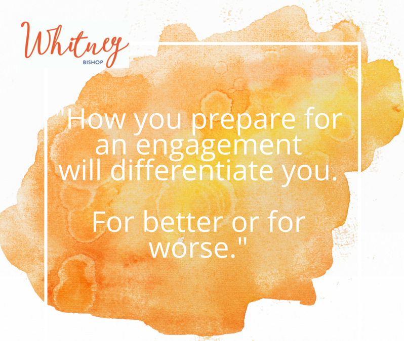 Preparation: The Pitfalls & The Power