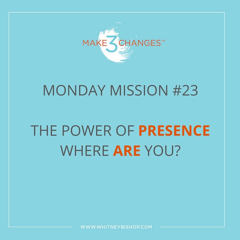 Monday Mission #23