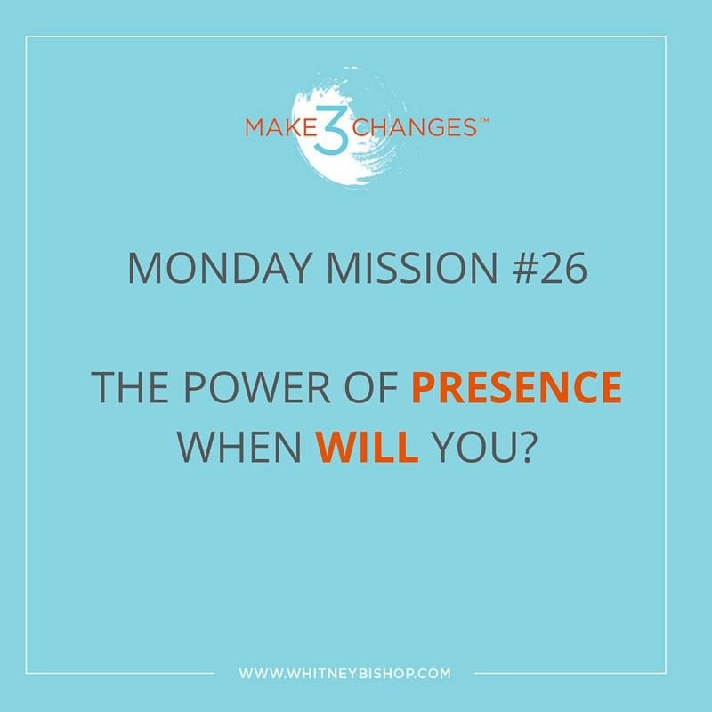 Monday Mission #26