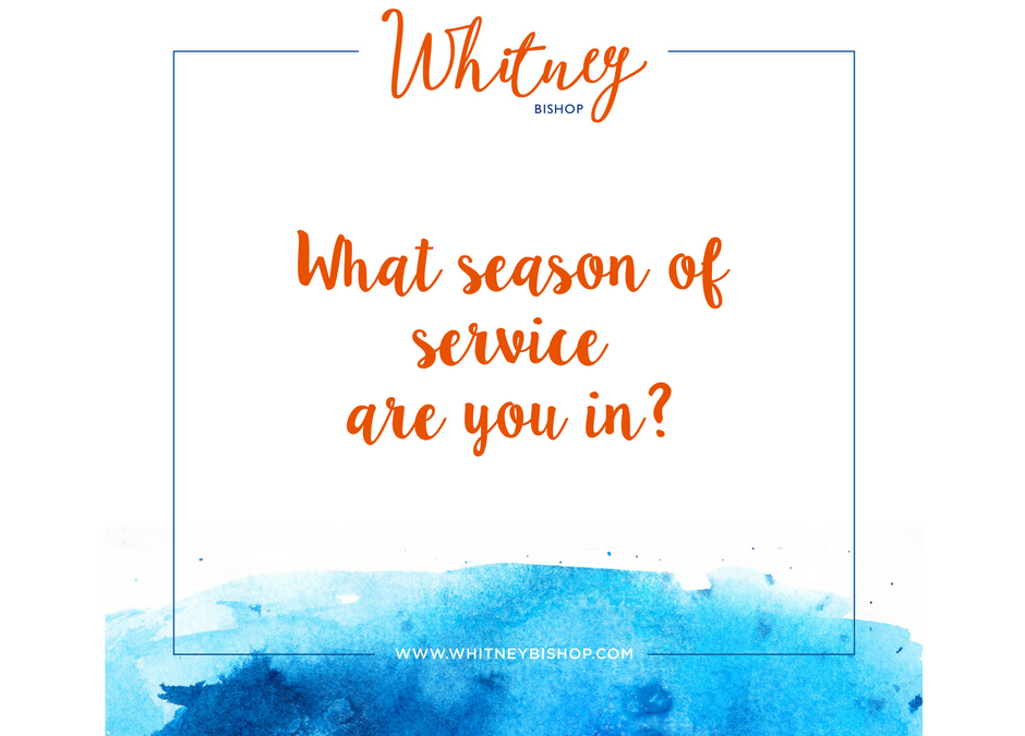What season of service are you in?