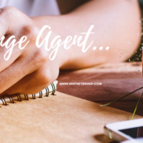 Dear Change Agent